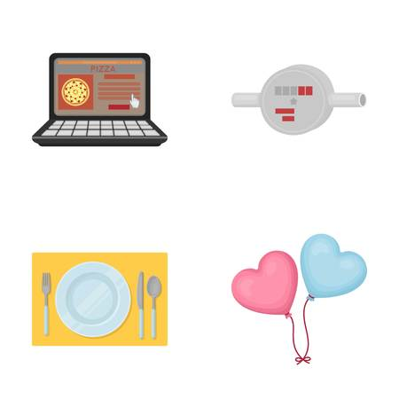 business, technology, restaurant and other web icon in cartoon style.heart, decoration, entertainment icons in set collection.