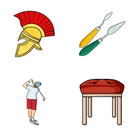 seats, leg and other web icon in cartoon style.Art, furniture icons in set collection.