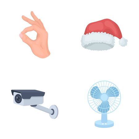Business, Trade, Holiday and other web icon in cartoon style.Cooling, Wind, Technology, icons in set collection. Illustration