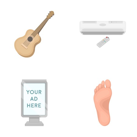medicine, business, concert and other web icon in cartoon style. foot, fingers, walking, icons in set collection.