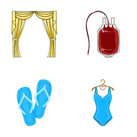 frill: house, travel and other web icon in cartoon style.medicine, sport icons in set collection. Illustration