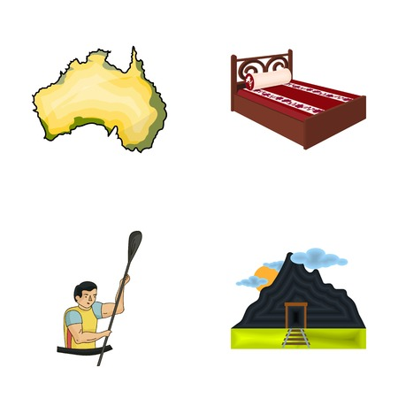 traveling, tourism, Industrial and other web icon in cartoon style, mining, coal, business, . icons in set collection.