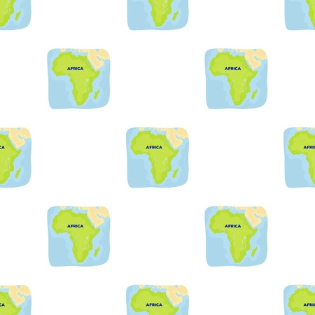 Territory of Africa.African safari single icon in cartoon style vector symbol stock illustration web.