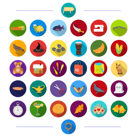 hand with dumbbell: animal, tourism, building and other web icon in flat style., entertainment, business, sport, icons in set collection.
