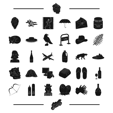antiquity: travel, Greece, antiquity and other web icon in black style. alcohol, animal icons in set collection.