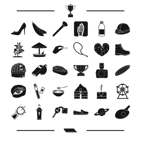 food, make-up, entertainment and other web icon in black style. pregnancy, vegetable, medicine icons in set collection.