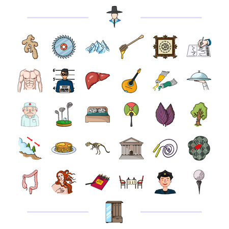 medicine, competitions, business and other  icon in cartoon style.furniture, sports, entertainment, icons in set collection.