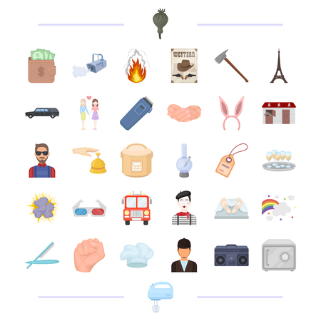 corpse: hobbies, business, travel and other  icon in cartoon style. household, recreation, tourism, icons in set collection.