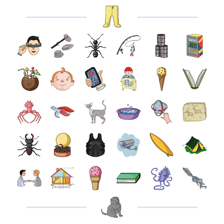 refrigerator: tourism, progress, business and other  icon in cartoon style., fauna, communication, leisure, icons in set collection. Illustration