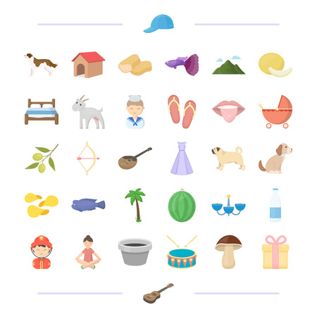 fireman: animal, profession, food and other  icon in cartoon style.leisure, interior, wedding icons in set collection.