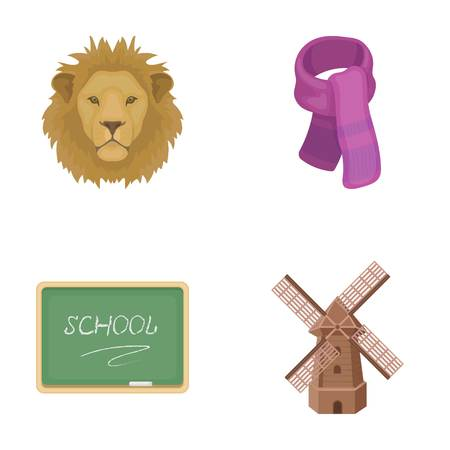 menagerie, education and other  icon in cartoon style.clothing, agriculture icons in set collection.