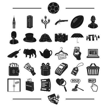 sport, travel, tourism and other web icon in black style., encoding, bank, trade, icons in set collection. Ilustração