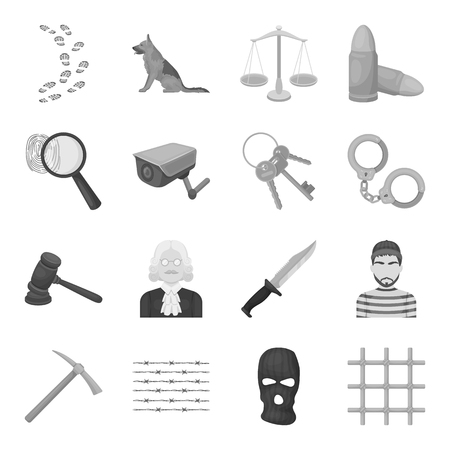 Precious minerals and jeweler set icons in monochrome style. Big collection of precious minerals and jeweler vector symbol stock illustration