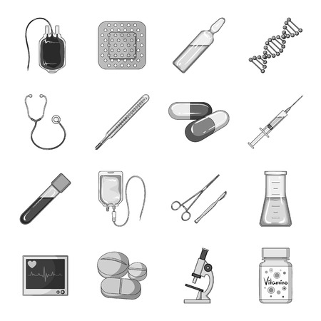 clothes rail: A movie camera, a floodlight, a chromakey and other equipment for the cinema.Making movie set collection icons in monochrome style vector symbol stock illustration web.