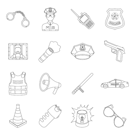 carding: Collar, pet food and other products. Pet shop set collection icons in line style vector symbol stock illustration .