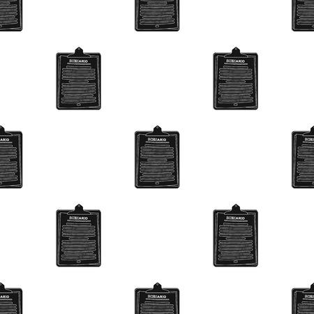 Scenario.Maak film één pictogram in het zwarte Web van de de voorraadillustratie van het stijl vectorsymbool.