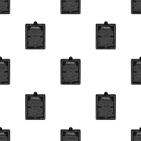 Scenario.Making movie single icon in black style vector symbol stock illustration web. Çizim