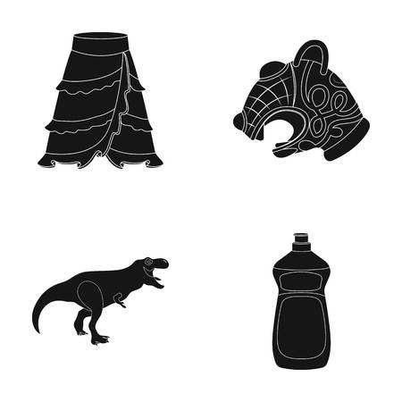 旅行、歴史や黒 style.house のアイコン セットのコレクションのファッションアイコン。  イラスト・ベクター素材