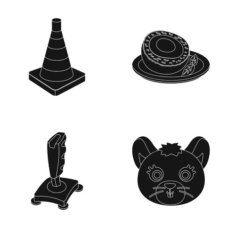 egg roll: Transport, technology and or web icon in black style.Belgium, animal icons in set collection. Illustration