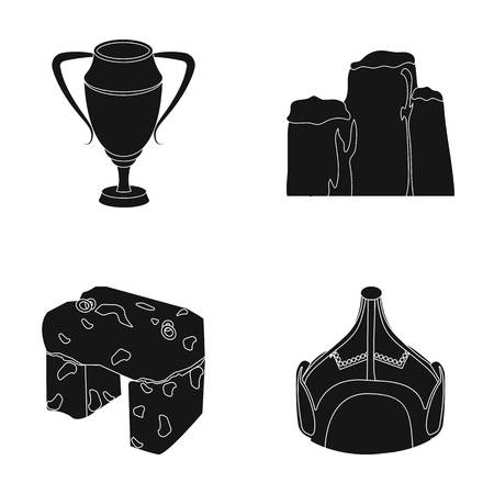 lear: lear, drawing and or web icon in black style.Mongolia, education icons in set collection.