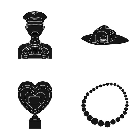 transport, service and or web icon in black style. education, Coal industry icons in set collection.