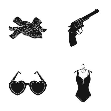 food, beauty and other web icon in black style.weapons, sports icons in set collection.