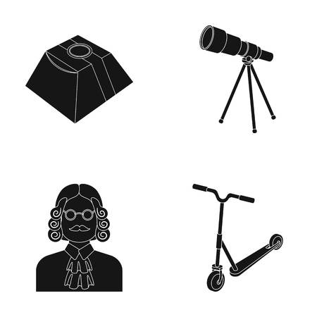 jabot: Service, Space and other web icon in black style.Transport, Justice icons in set collection. Illustration