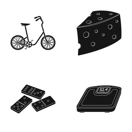 sports, cooking and other web icon in black style. casino, fitness icons in set collection.