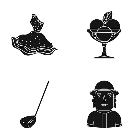 textiles, cafe, profession and other web icon in black style.man, fireman, uniform, icons in set collection.