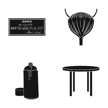 design, business, medicine and other web icon in black style., table, legs, tree, icons in set collection. Imagens - 82260075