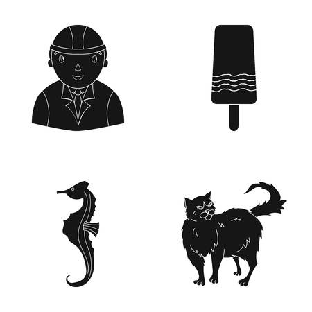 fur, care, building and other web icon in black style.ocean, cat, animal icons in set collection.
