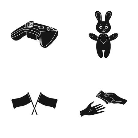 Bank, business, trade and other web icon in black style. money, bargaining, credit icons in set collection.