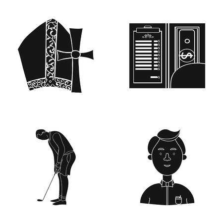 study, bank, preaching and other web icon in black style.boy, butterfly, clothes, icons in set collection.