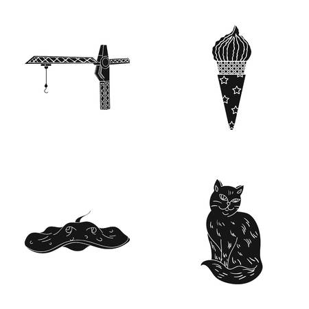 A production, recreation, cooking and other web icon in black style.animal, home, care, icons in set collection.