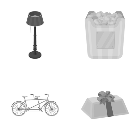 Sports,lighting and other monochrome icon in cartoon style.film prize, gift icons in set collection.