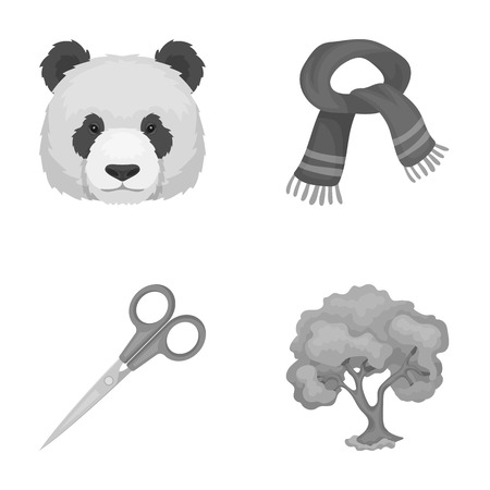 grass blades: Clothes, animal and other monochrome icon in cartoon style.training, forestry icons in set collection. Illustration