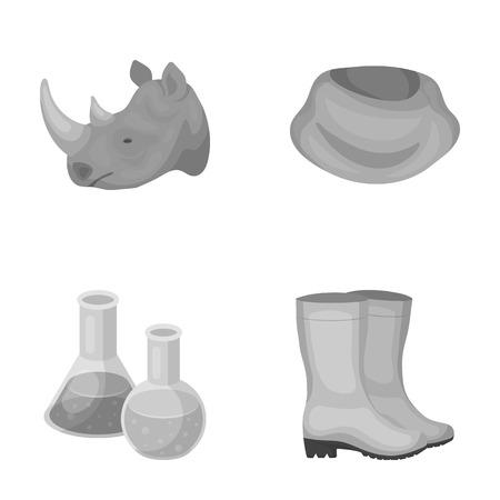 gomma, Istruzione e l'altra icona monocromatica in stile cartone animato. abbigliamento, icone di calzature nella collezione di set.