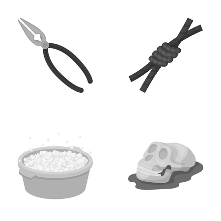 history, cleaning and other monochrome icon in cartoon style.building, rodeo icons in set collection.