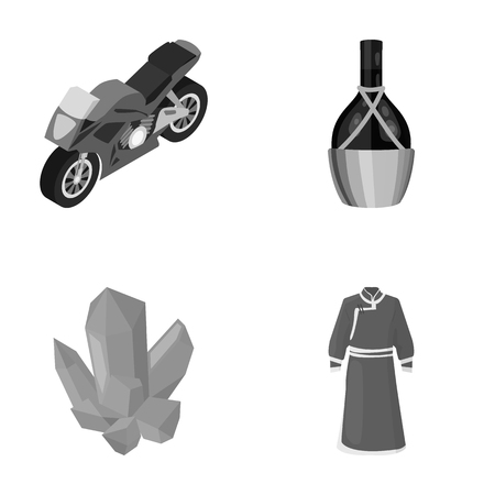 textiles, tourism, travel and other monochrome icon in cartoon style.pattern, clothing, fashion, icons in set collection.