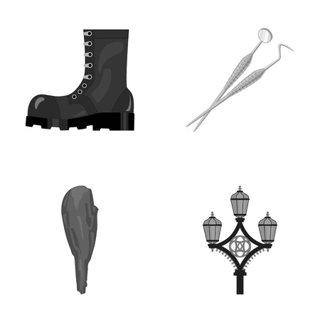 cast iron: army, history and other monochrome icon in cartoon style. medicine, England icons in set collection.
