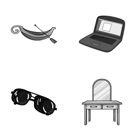travel, crime and other monochrome icon in cartoon style. technology, furniture icons in set collection. 向量圖像