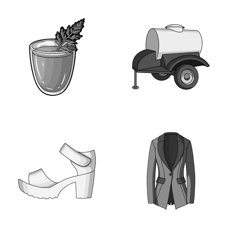 vegetarianism, shoes and other monochrome icon in cartoon style.oil, fashion icons in set collection.