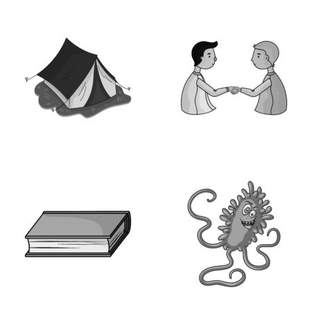 travel, education and other monochrome icon in cartoon style.finance, medicine icons in set collection. Illustration