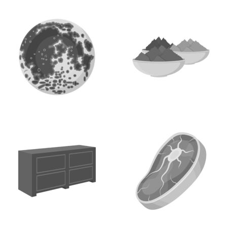 chest of drawers: food, business, ecology and other  icon in cartoon style.piece, beef, pork icons in set collection.