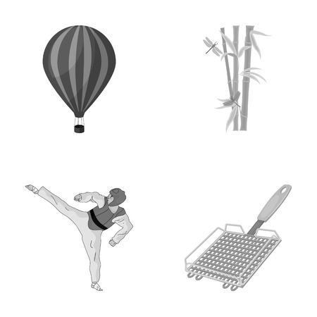 travel, tourism, business and other  icon in cartoon style.barbecue, picnic, rest, icons in set collection.