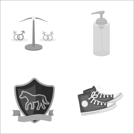 business, leisure, tourism and other  icon in cartoon style.running, shoes, trade, icons in set collection.