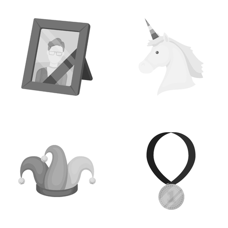 business, entertainment, circus and other monochrome icon in cartoon style.win, sport, achievements, icons in set collection. Illustration