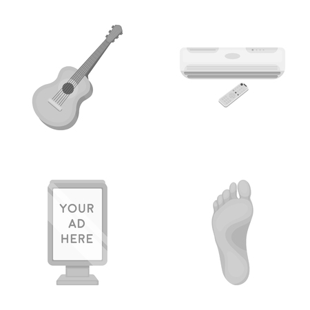medicine, business, concert and other monochrome icon in cartoon style. foot, fingers, walking, icons in set collection. Çizim