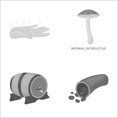 trade, medicine, non-traditional and other monochrome icon in cartoon style.capillary, blood, business, icons in set collection. Illustration