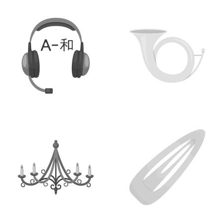 Hair clip, hair, convenience, icons in set collection.